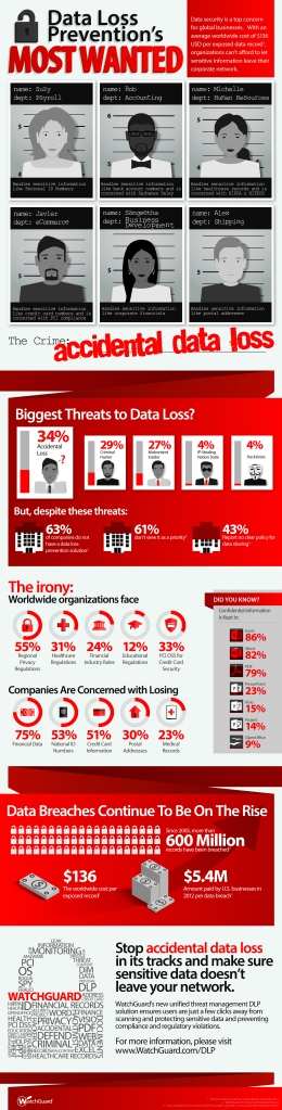 The results of our Data Loss Prevention survey show some surprising results
