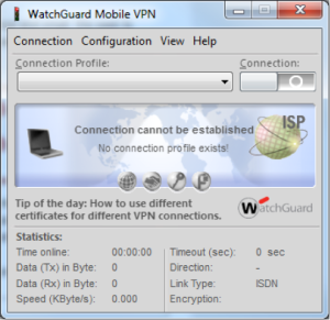 IPSec VPN Client for WatchGuard